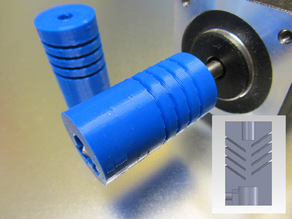 Con-Helical Flexible Coupler