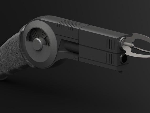 Batman Grapple Gun By Lilykill Thingiverse