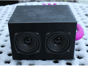"Stereo Speaker Box (3"" FRS 8 Visaton and similar)"