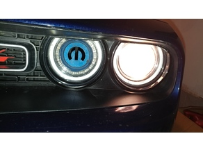 Challenger custom headlight plug