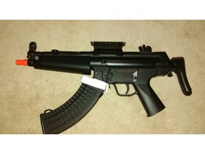 Airsoft MP5 Adapter For AK Mags