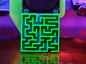 OpenSCAD Maze Generator