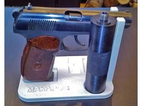 Stand for Makarov (MP 654k) gun