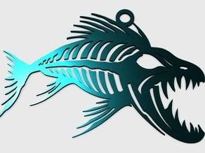 Tiger Fish Pendant