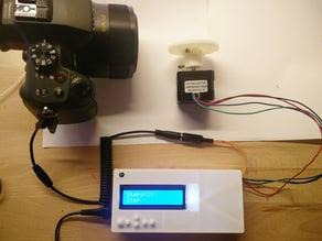 DIY Desktop 3d Scanner Case MEGA 2560 + Display