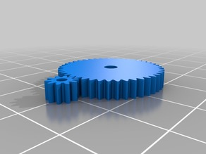 Printable gears for OpenZ v4a Chassis