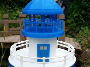 Hexagonal Base Lighthouse Model Remix