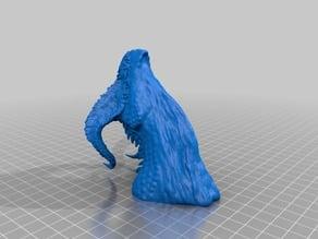 Dragon Bust By Robwzor - hollow for SLA/DLP