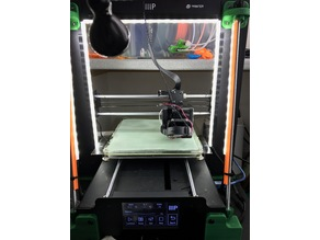 Z brace LED strip holder for Wanhao I3/Maker Select/Select Plus