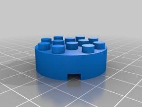 Lego circle block