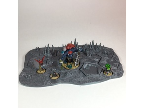 Mollog's Mob scenic base and blocked tiles