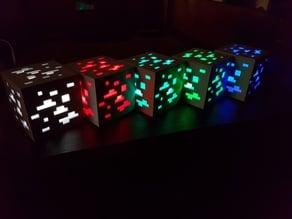 Minecraft Redstone Ore Lamp Redone