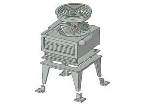 28mm building details: Roof ventilator