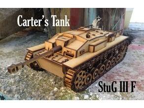 Lasercut StuG III Ausf. F