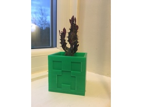 Minecraft Creeper Planter / Pot