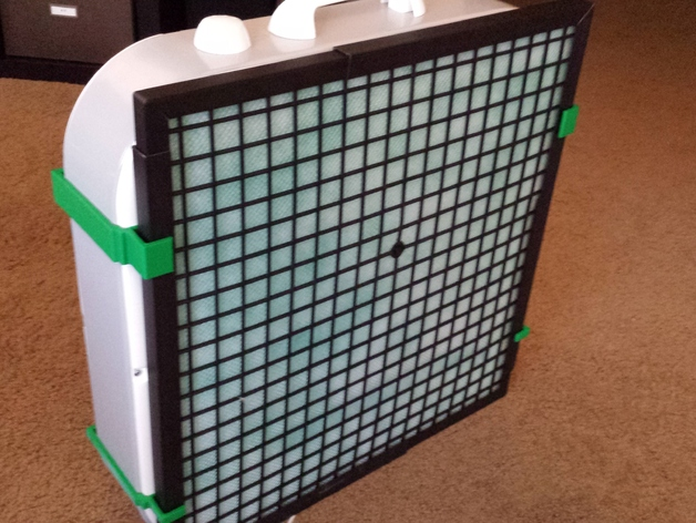 20 Inch Box Fan Air Filter By Atomicflx Thingiverse