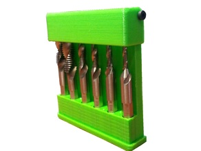 Hex box holder for Metric Composite Drill Tap