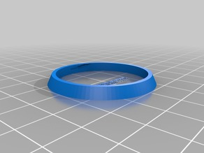 Ender 3 Filament Spool Horizontal Mount Smoother Ring