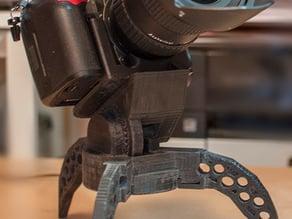 Tripod. Quick support for Nikon reflex. V2.