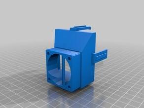 Cetus3D Noctua 60mmx25mm fan adaptor
