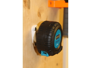 Hazet measuring tape compatible wall mount