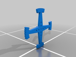 "VEX 6"" Wheel Leg - flat side"