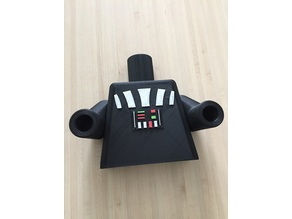 Giant Darth Vader Lego Holder Paper toilet