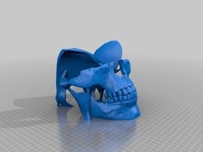 Skull Mask Fixed (5 min Tinkercad Edit)
