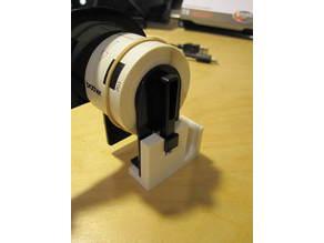 Roll holder for Brother QL-500 label printer