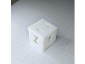 Calibration Cube for Resin Printers (DLP, SLA, LCD)