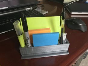 Post it Note and Pen Holder