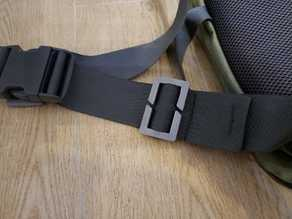 Quick Slide Keeper Buckle for Webbing Strap Belt 50mm