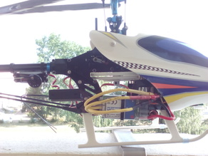 Gyro platform 450 helicopter