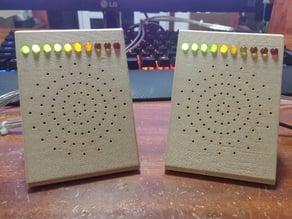 Desktop/Portable Speakers with VU Meter