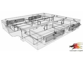 Cyberpunk basic living quarters