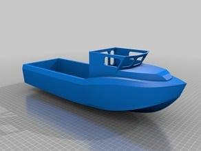 Jet Drive Work Boat