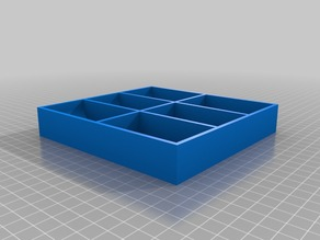 Modified Tray Box of Agricola Storage Solution by wtwerner
