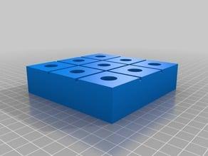 Tic-Tac-Toe Mega-pin Board