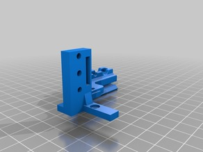 Ender-5 BLTouch Mount (3mm lower) + Hotend Cable Strain Relief