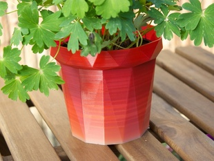 PrintPot! A cool 'meshed'-up flower pot!