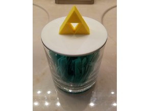 Triforce Jar Lid Zelda