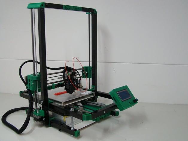 Folding 3d Printer Design Based On Foldarap By Tutuemma