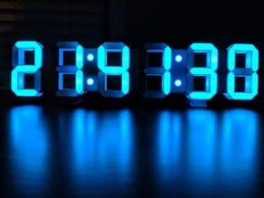 7 Segment LED Clock