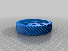My Customized (parametric) gear (regular / helix / double helix / herringbone)