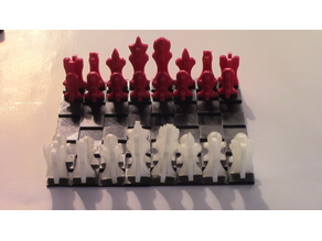 Super Simple Chess and Checkers Set (SSCCS)