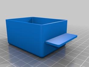 Petit tiroir pour casier de rangement