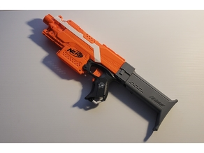 SCAR L kit for Nerf Stryfe