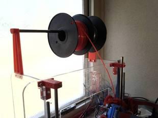 Mendel90 spool holder (customizable)