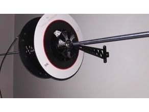 Soporte de Pared para Bobina de Filamento (Wall mount for filament coil)