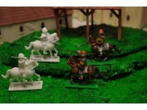 Generic Sword'n'Board 28mm Cavalry